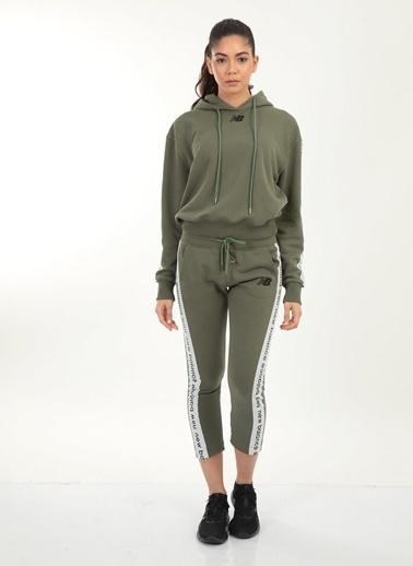 New Balance Sweatshirt Yeşil